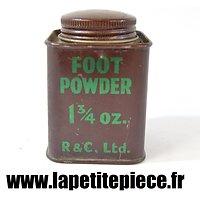 Boite de poudre pour les pieds - FOOT POWDER 1 3/4 oz R&C LTD.