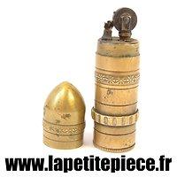 Briquet en forme d'obus, KASCHIE années 1920 - 1940.