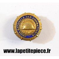 Insigne / boutonnière Union Nationale des Combattants