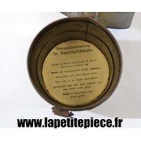 Reproduction de notice pour masque à gaz Allemand modèle 1917