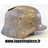 Coque de casque Allemand modèle 40, pièce de terrain.