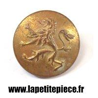 Bouton doré 25mm Royaume de Belgique