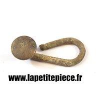 Crochet de bretelle de suspension modèle 1845, France WW1