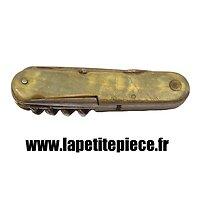 Couteau multifonction Thiers époque Première Guerre Mondiale