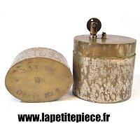 Briquet de table artisanal gravé Souvenir du Génie 154 / 3