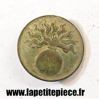 Bouton Français 23mm Première Guerre Mondiale