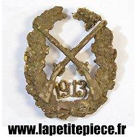 Brevet de tireur / insigne de bras Allemand Première Guerre Mondiale