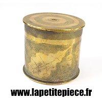 Boite artisanat de soldat Première Guerre Mondiale