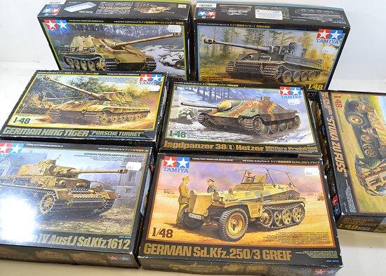 Lot Maquettes véhicules Allemands Deuxième Guerre Mondiale