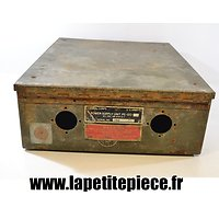 Caisse US POWER SUPPLY PE-120 Signal Corps US ARMY