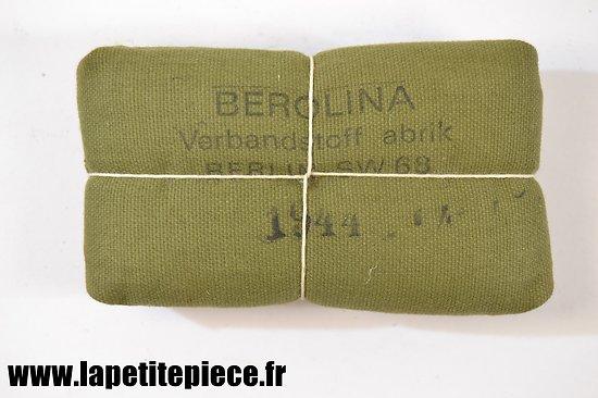 Pansement Allemand BEROLINA 1944