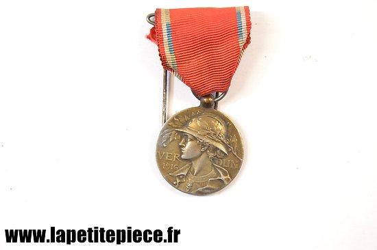 Médaille Verdun 1916, 'Aux glorieux defenseurs de Verdun' modèle Prud 'homme