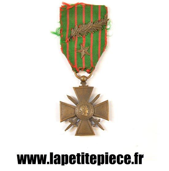 Croix de Guerre 1914 - 1916 avec citation à l'Ordre de l'Armée et du Régiment