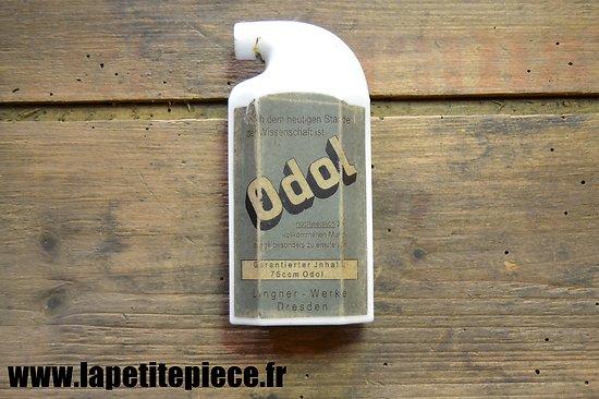 Flacon ODOL petit modèle. Première Guerre Mondiale