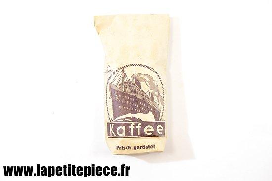 Sachet de café Allemand KAFFE Frisch Geröstet 50gr