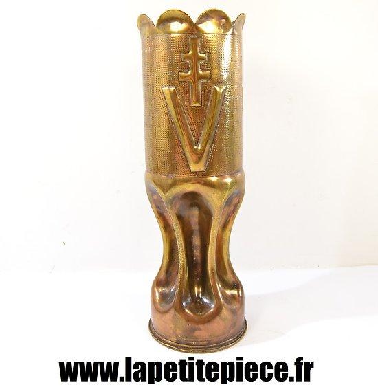 Artisanat de resistant, France Libre - Croix de Lorraine