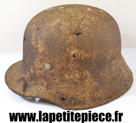 Casque Allemand modèle 18 Deuxième Guerre Mondiale - Pionnier