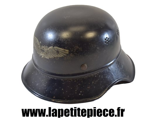 Casque Allemand Luftschutz modèle 1938