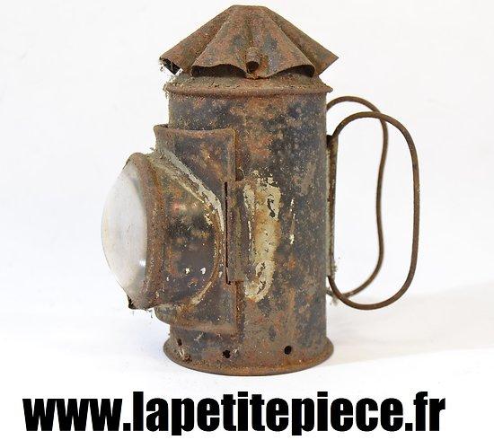 Petite lanterne / lampe à bougie Première Guerre Mondiale