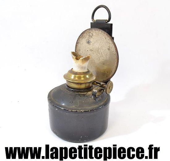 Reservoir avec bobèche pour lanterne Anglaise WWI / WWII