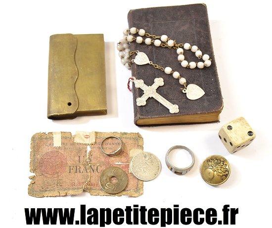 Souvenirs de soldat Français Première Guerre Mondiale