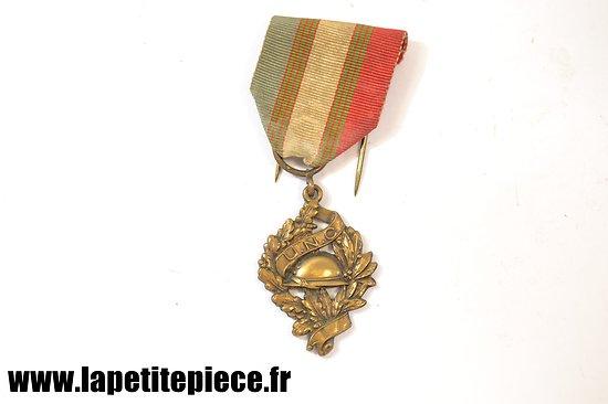 Médaille U.N.C. Union National des Combattants - Première Guerre Mondiale UNC