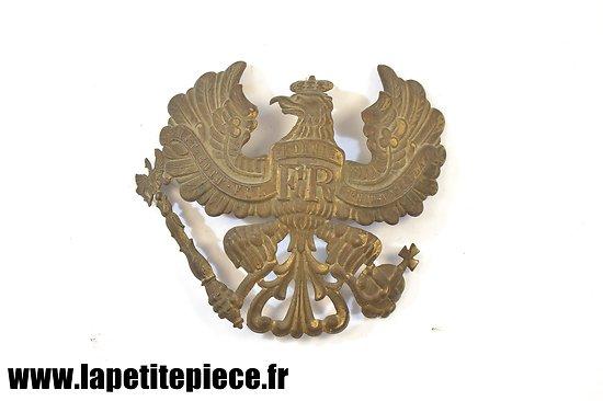 Plaque de casque à pointe modèle 1895 Prussien