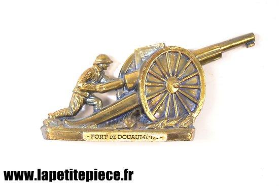 Canon de 75 Français - souvenir du Fort de Douaumont