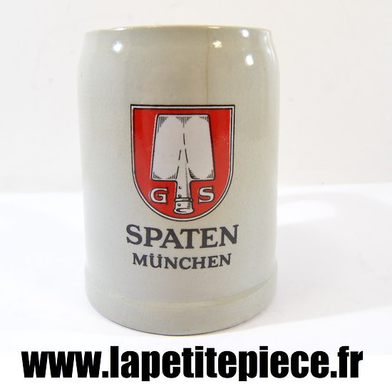 Chope à bière Allemande années 1930. SPATEN MÜNCHEN 0,3L