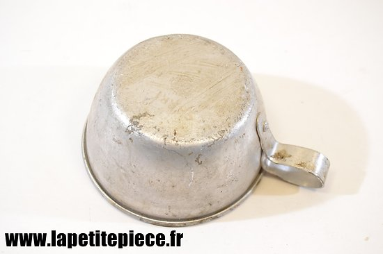 Quart en aluminium France WW2