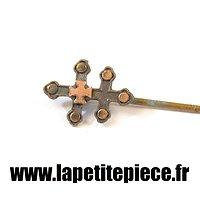 Broche en croix tréflée époque Première Guerre Mondiale
