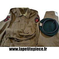 Repro tenue de combat / Battle Dress, Commando Kieffer, U.K. France WW2