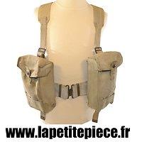 Brelage - ceinturon, bretelles de suspension et pouchs Anglais WW2