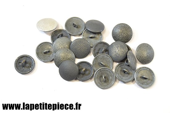 Lot de boutons Allemand WW2 - COPIE