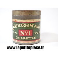 Boite de cigarettes Anglaises Churchman's Cigarettes Special n°1