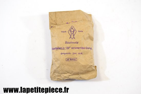 Baumwolle / coton Allemand 1940. SS packung