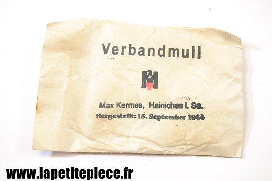 Verbandmull DRK MAX KERMES / Hainichen 1944