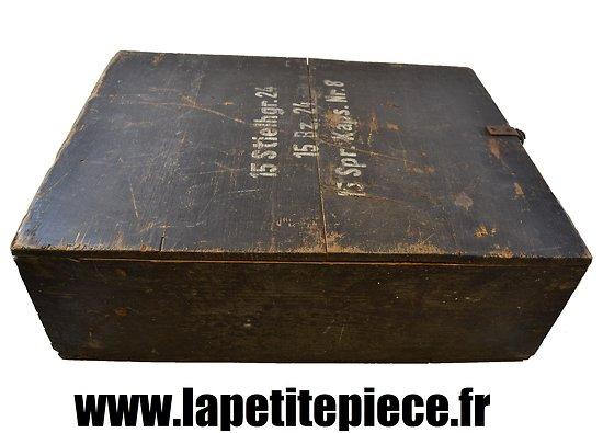 Caisse de grenade à manche modèle 1924 - Stielhandgranaten 24