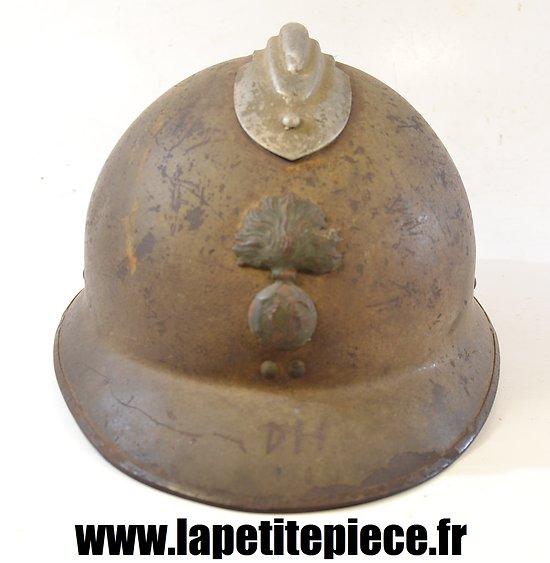 Casque Adrian modèle 1926. France WWII Infanterie