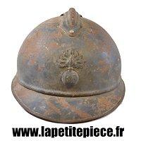 Casque Adrian modèle 1915 Infanterie. 1er type