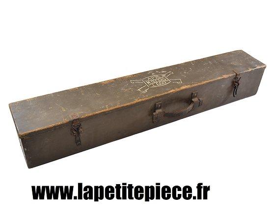 Caisse d'optique de mitrailleuse de casemate 13,2mm France. APX L.660