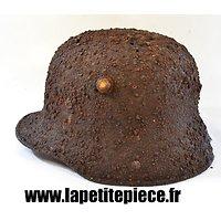Coque de casque Allemand modèle 1916 - pièce de terrain