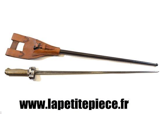 Baionnette Française modèle 1886-15 pour fusil Lebel et Berthier 1907