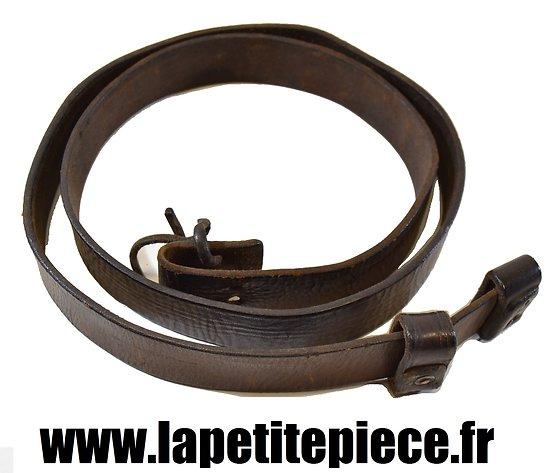 Bretelle de fusil anglais Enfield SMLE 1907 cuir