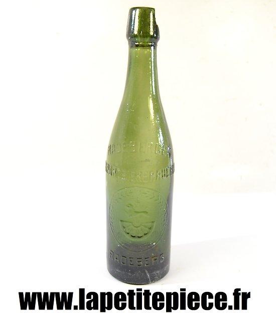 Bouteille de bière Allemande PRemière Guerre Mondiale. RADEBERG