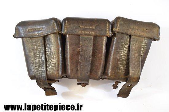 Cartouchière Allemande modèle 1909 datée 1915, mauvais état