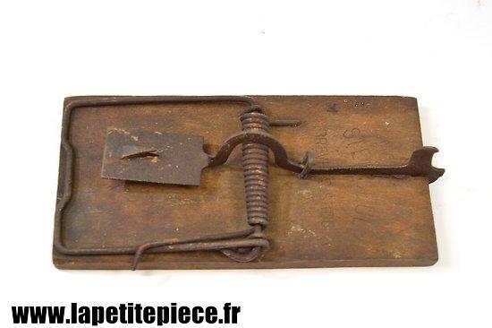 Piège à rat Française époque Première Guerre Mondiale