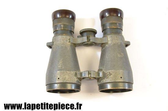 Paire de jumelles allemandes Première Guerre Mondiale. DIENST F.G.08 Fernglas 08. Allemand WW1