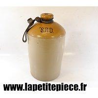 Bouteille / bonbonne d'alcool Anglaise Première Guerre Mondiale. S.R.D.