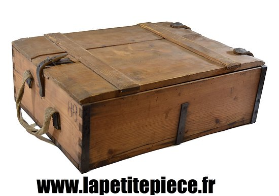 caisse munitions allemande patronenkasten 88. Black Bedroom Furniture Sets. Home Design Ideas
